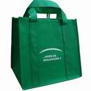 Green Non Woven polypropylene bag with Custom Logo